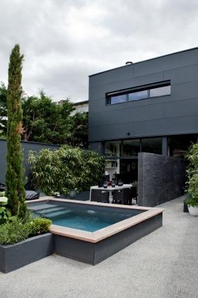 Am nagement d 39 un jardin de ville caud ran ducos paysages for Amenagement jardin de ville